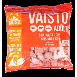 Mush röd gris-nöt-lax 3kg