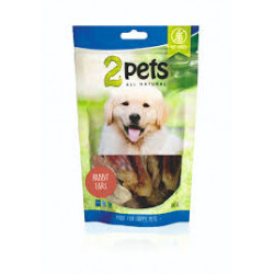 2pets Dogsnack Rabbit ears...